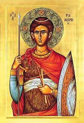 Saint Phanourios Today ST PHANURIUS the Martyr Fanourios Fanurius Aug 27 2014