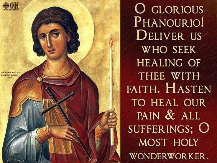 Saint Phanourios 1000 images about Orthodox on Pinterest Saint john Patron saints