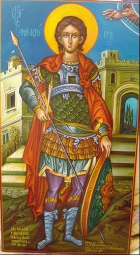 Saint Phanourios Simply Orthodox Saint Phanourios