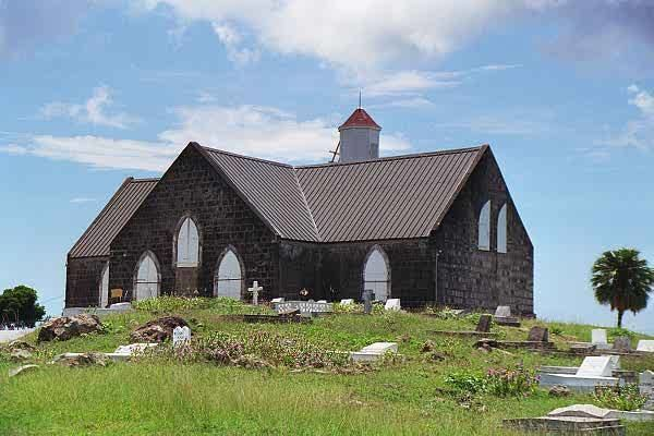 Saint Thomas Lowland Parish in the past, History of Saint Thomas Lowland Parish