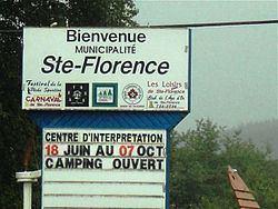 Sainte-Florence, Quebec httpsuploadwikimediaorgwikipediacommonsthu