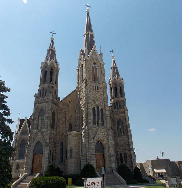 Saints Peter and Paul Church (Petersburg, Iowa)