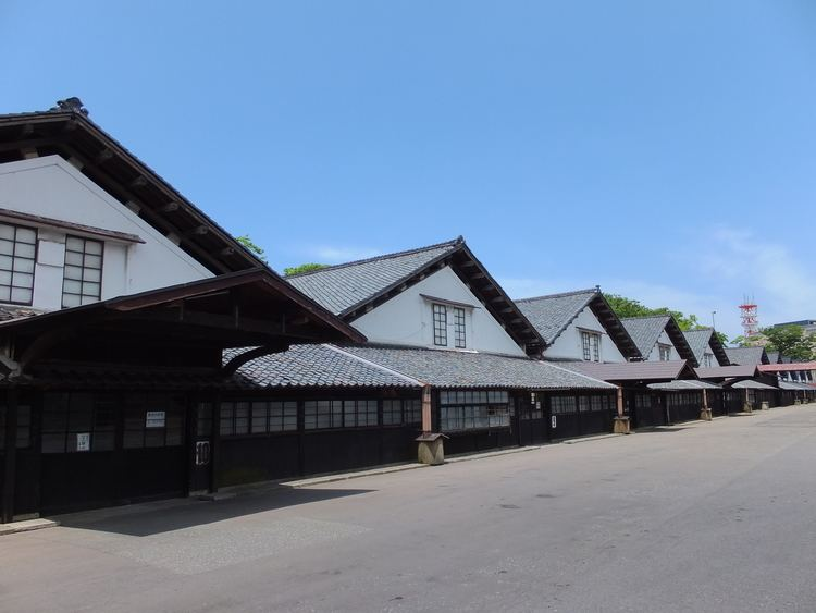 FileSankyo Warehouse in Sakata Yamagata 16 June 2013 02jpg
