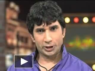 Sakhawat Naz Sakhawat Naz in Promo of Mazaq Raat New Comedy Show Coming Soon