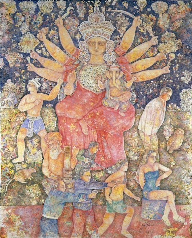 Sakti Burman The Art of Sakti Burman A Private Universe