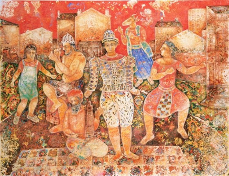 Sakti Burman ArtSlant Sakti Burman
