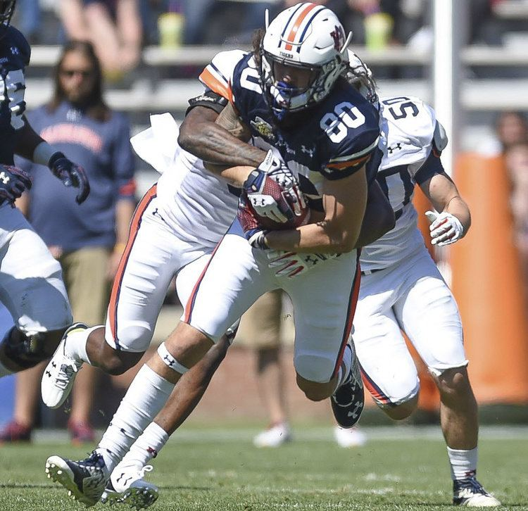Sal Cannella What Auburn tight end Sal Cannella needs to work on this offseason