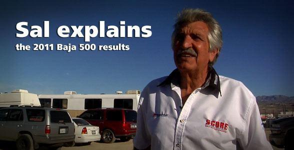Sal Fish Sal Fish QampA On Baja 500 Results racedeZertcom