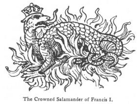 Salamanders in folklore and legend Fictitious and Symbolic Creatures in Art Other Chimerical Creatures