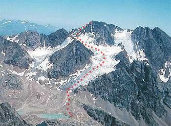 Saldurspitze wwwseilschaftitsaldursp350panorroutejpg
