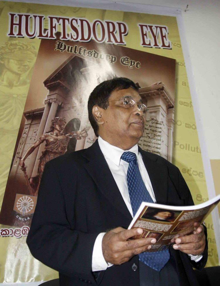 Saleem Marsoof Supreme Court Judge and chief guest Saleem Marsoof with the magazine