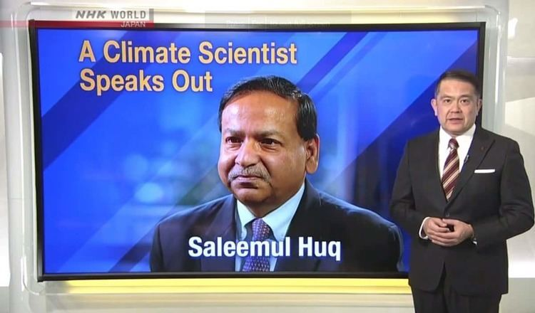 Saleemul Huq Dr Saleemul Huq Media International Centre for Climate Change and