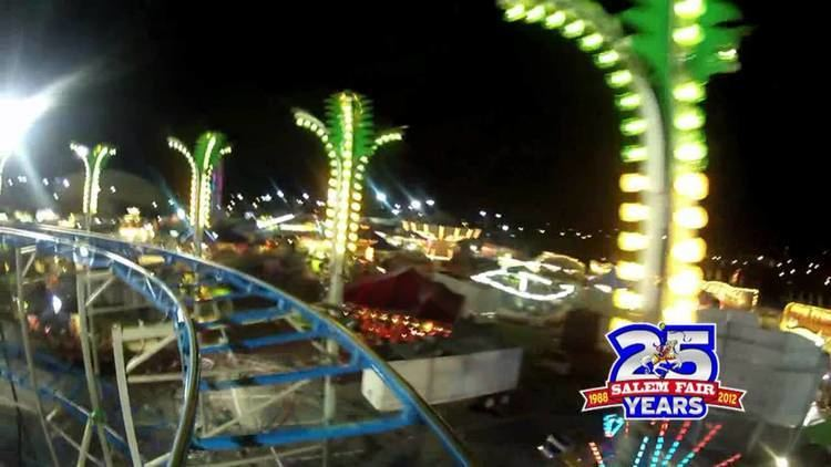 Salem Fair GoPro at the Salem Fair on the Riptide Coaster YouTube
