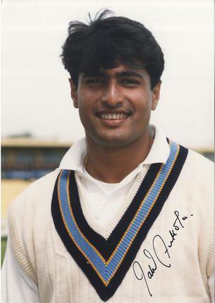 Salil Ankola India Test Cricket Cricket Signed Photograph Autograph