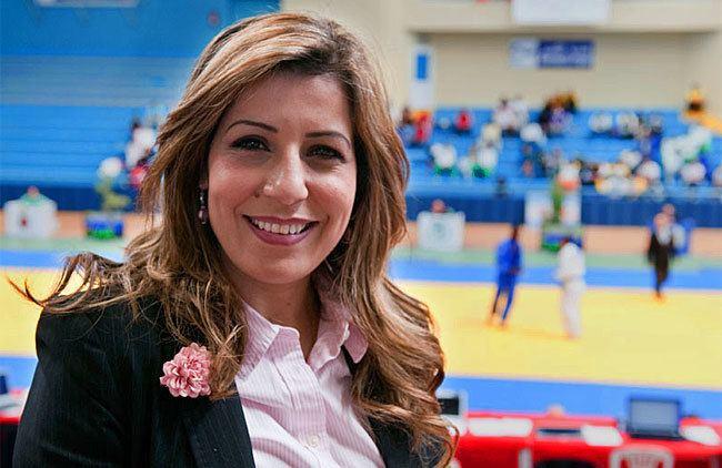 Salima Souakri Judo Interview Salima Souakri 39le sport comme outil