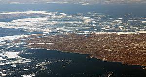 Salisbury Island (Nunavut) httpsuploadwikimediaorgwikipediacommonsthu
