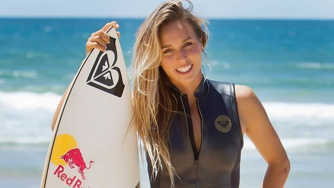 Sally Fitzgibbons Hand over heart it39s Sally Fitzgibbons39s time to shine in