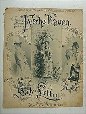 Sally Liebling salon piano SALLY LIEBLING fesche frauen rosa poppe frau lieben