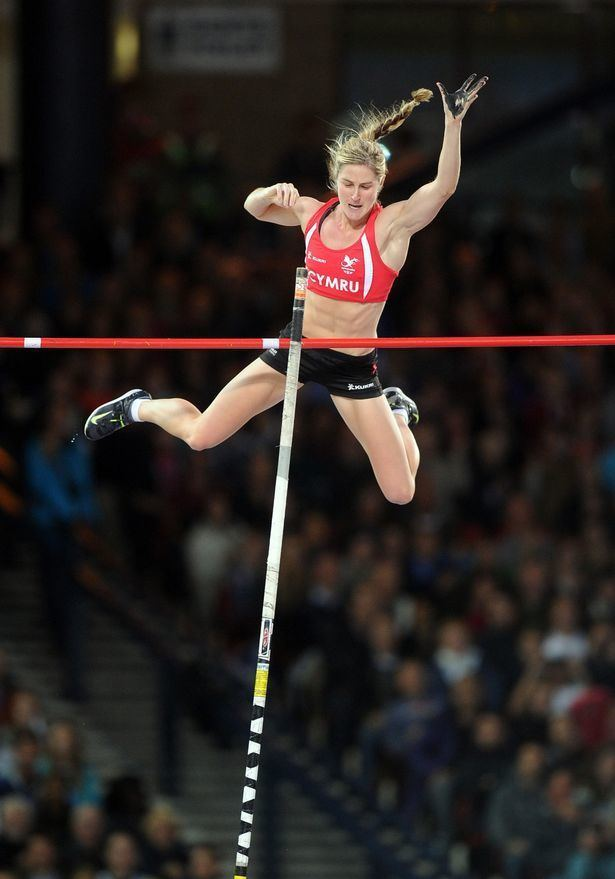 Sally Peake Appeal to fund new poles for Commonwealth athlete Daily Post