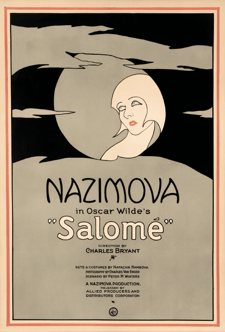 Salomé (1923 film) Salom 1923 film Wikipedia