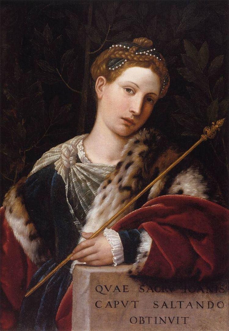 Salomé (Moretto)