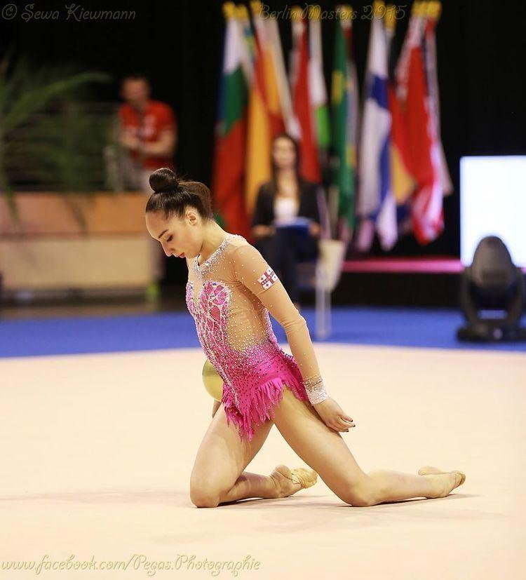 Salome Pazhava Grand Prix Berlin Masters Individuals 3031052015