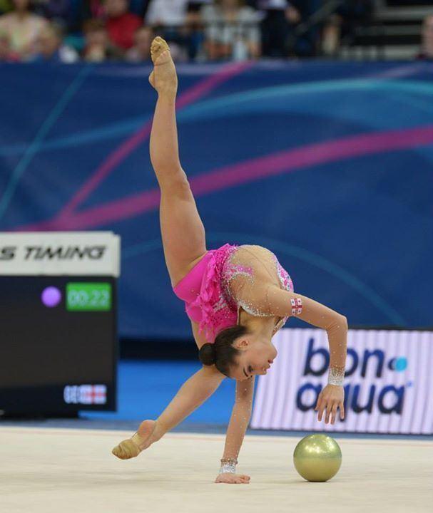 Salome Pazhava Salome PAZHAVA Georgia European Championships Minsk