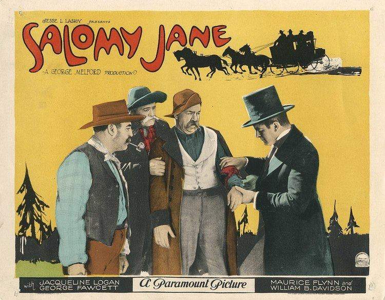 Salomy Jane (1923 film) Salomy Jane 1923 film Wikipedia
