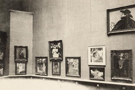 Salon d'Automne Grand Palais Salon d39Automne View of ToulouseLautrec39s Paintings