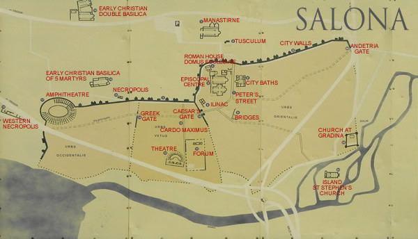 Salona Salona the ancient capital of Dalmatia Go Hvar
