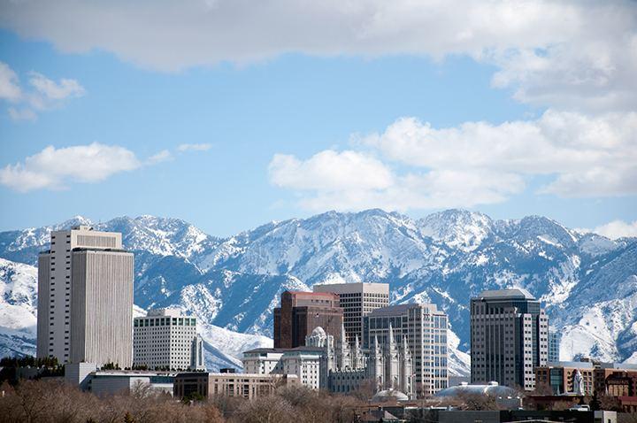 Salt Lake City Beautiful Landscapes of Salt Lake City