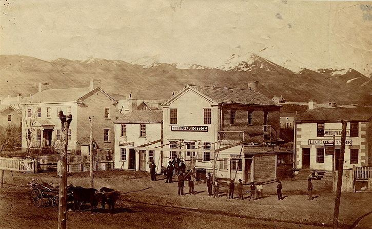 Salt Lake City in the past, History of Salt Lake City