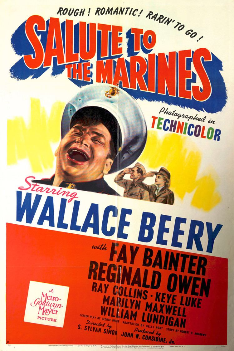 Salute to the Marines wwwgstaticcomtvthumbmovieposters1713p1713p
