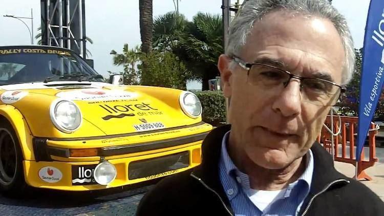 Salvador Cañellas Salvador Canyelles piloto del coche nmero 1 del Rally Costa Brava