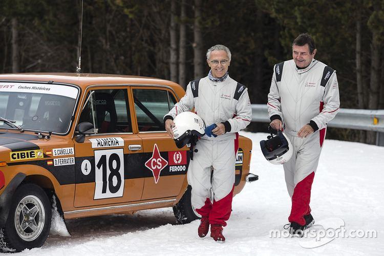 Salvador Cañellas Salvador Caellas Daniel Ferrater at Rally Monte Carlo Historique