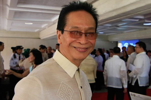 Salvador Panelo Panelo says drug problem can make martial law 39valid39 Headlines