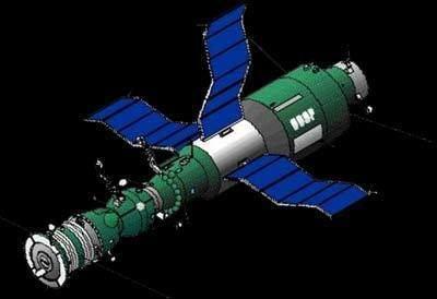 Salyut 3 Salyut 3 4 DOS 3 4 Gunter39s Space Page