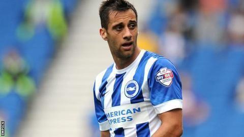 Sam Baldock Sam Baldock Brighton Hove Albion striker yet to click fully