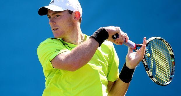 Sam Barry (tennis) Sam Barrys battles behind the baseline show sport at its most lonely