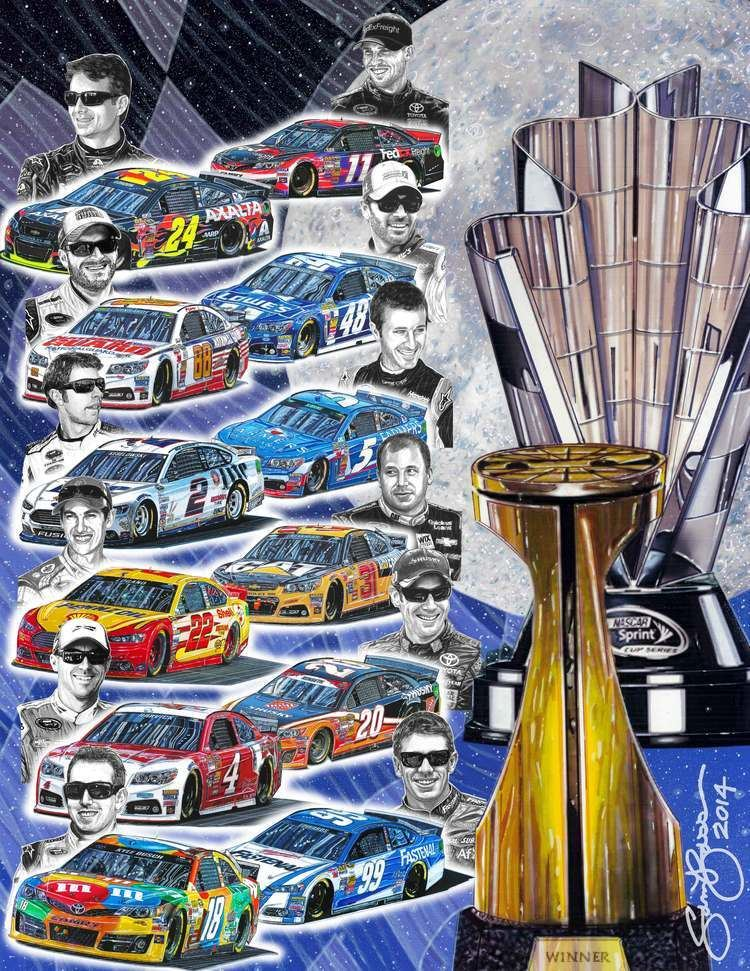Sam Bass (artist) SAM BASS NASCARS 1st OFFICIALLY LICENSED ARTIST Racegearcom