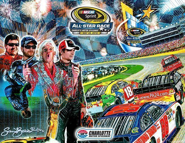 Sam Bass (artist) NASCAR artist Sam Bass to open new studio and gallery in Concord