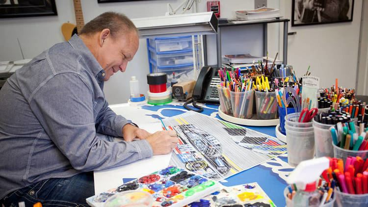 Sam Bass (artist) NASCAR Artist Sam Bass to sell collection at bankruptcyordered