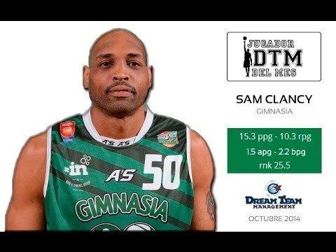 Sam Clancy Jr. Sam Clancy jugador DTM de Octubre YouTube