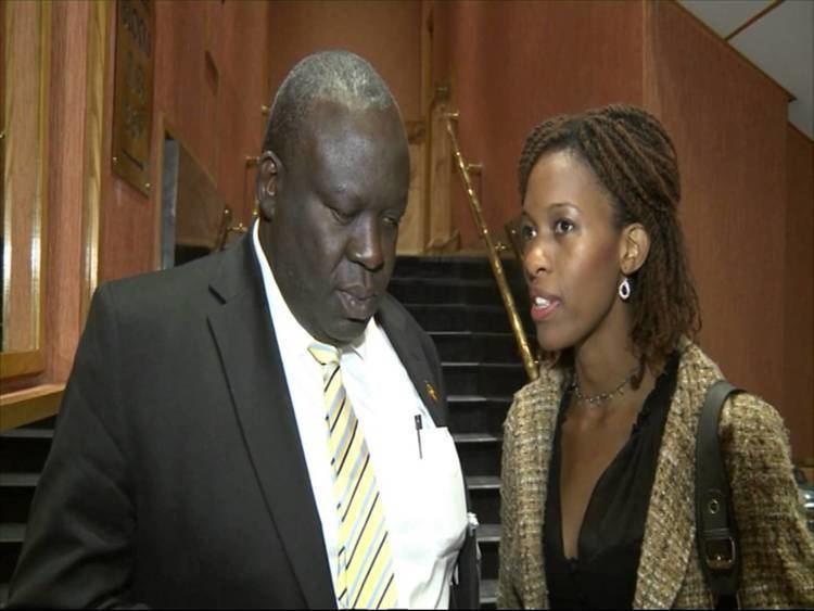 Sam Engola Hon Sam Engola Minister of Housing interview 2013 YouTube
