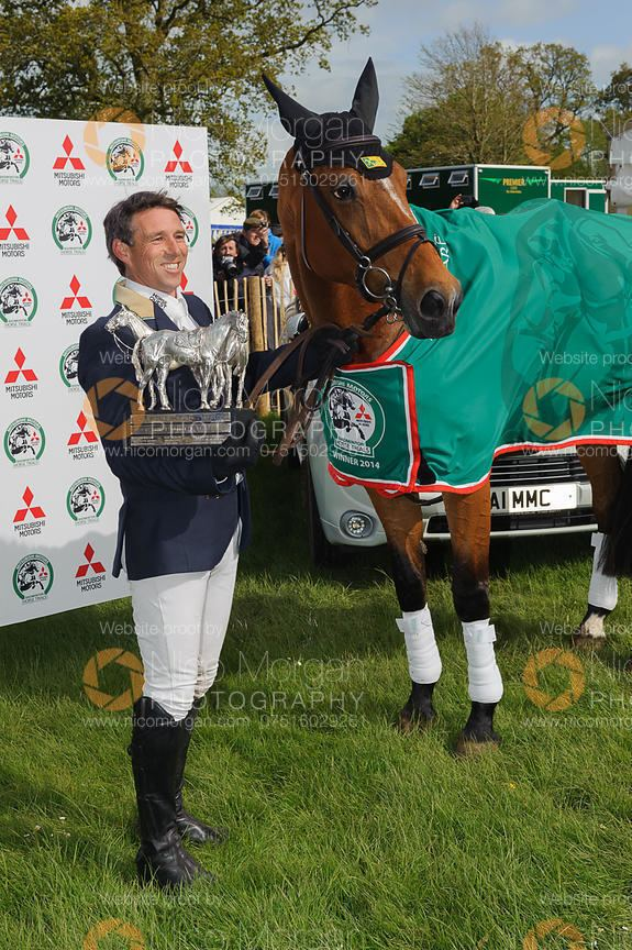 Sam Griffiths Image Sam Griffiths with the Badminton Horse Trials