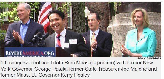 Sam Meas Congressional candidate Sam Meas charge home countries for