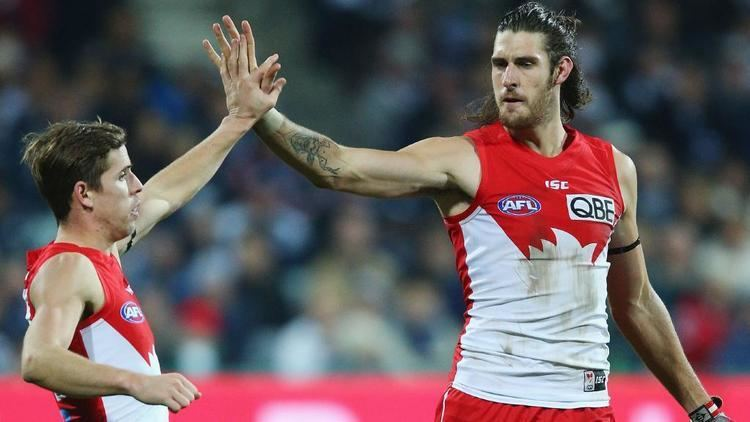 Sam Naismith Sam Naismith could be a readymade replacement for Kurt Tippett