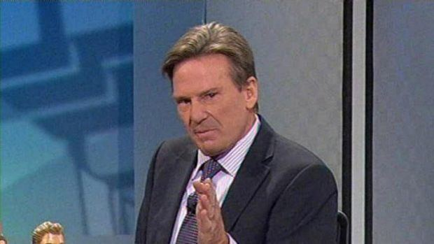 Sam Newman No apology from Sam Newman for TV flash
