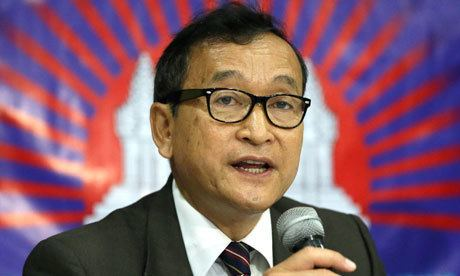Sam Rainsy Cambodian opposition leader pardoned at request of PM