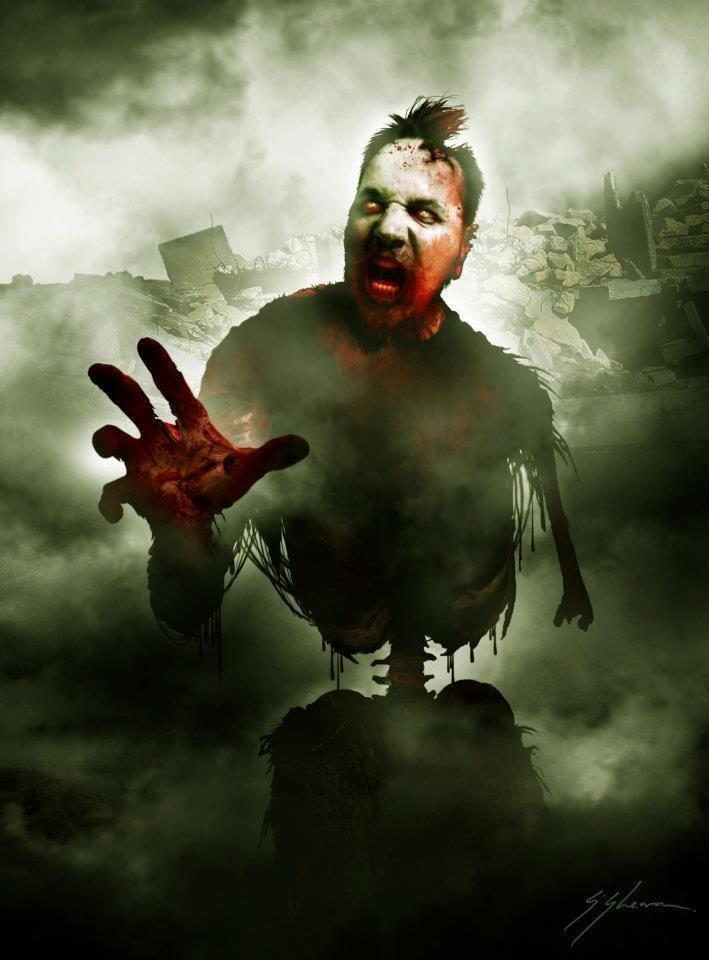 Sam Shearon Dark Art Subject yourself to the zombie master Sam
